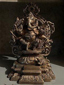 Ganesh bronze Dançando