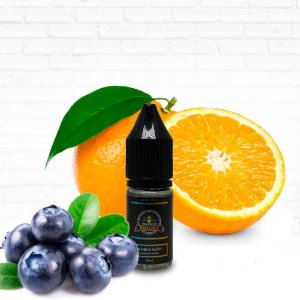 Blueranjão - 10ml - E-liquid de Blueberry, Laranja e Limão
