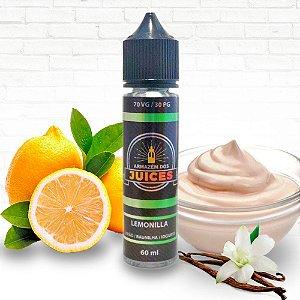 Lemonilla - 60ml - E-liquid de Limão Baunilha e Iogurte