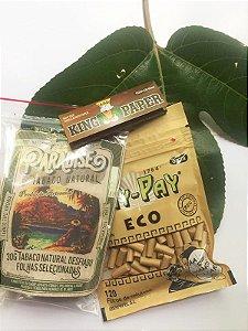 Kit Tabaco Natural Paradise 30g