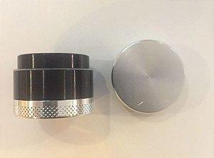 Dichavador de Metal pequeno - Preto e prata
