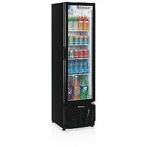 Refrigerador de Bebidas Vertical Porta de Vidro 228 litros GPTU-230PR Gelopar