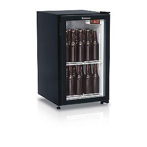 Refrigerador de Bebidas Cervejeira Porta de Vidro 120 litros GRBA-120PPR Gelopar