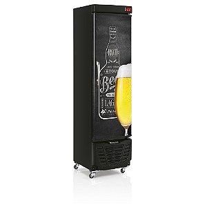 Refrigerador de bebidas cervejeira porta cega com aço pré-pintado 230 litros 220v - GRBA-230QC - Gelopar