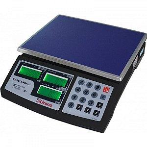 Balança autônoma 20kg com backlight e bateria US POP-S 20/2 Urano