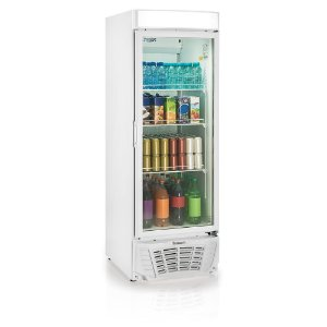Refrigerador de Bebidas conveniência linha Esmeralda vertical porta de vidro 572 litros GLDR-570AF Gelopar
