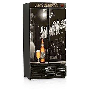 Refrigerador de Bebidas Cervejeira 2 Portas 760 litros GRBA-760B Gelopar