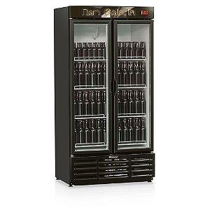 Refrigerador de Bebidas Cervejeira 2 Portas de Vidro 760 litros GRBA-760PV Gelopar