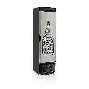 Cervejeira 290 litros - Porta Tipo Inox com Adesivo - Refrigerador de Bebidas  GRBA 290EGW Gelopar