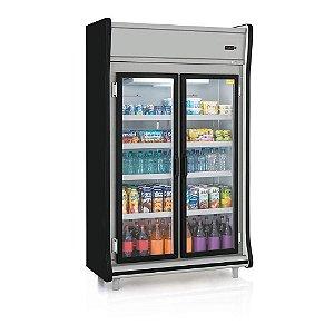 Expositor Vertical 2 portas refrigerado (Geladeira) - Gelopar - GEVP-2PPR
