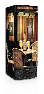 Refrigerador de Bebidas Cervejeira 570 litros GRBA-570R Gelopar