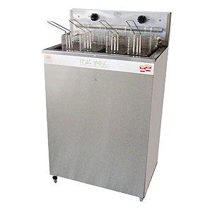Fritadeira Industrial Elétrica Água e Óleo 36L FAOI-36 - Ital Inox
