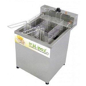 Fritadeira Industrial Elétrica Água e Óleo FAOCI-18 - Ital Inox