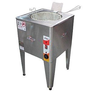 Fritadeira elétrica 24 litros água e óleo inox  - FRP-24 - Skymsen