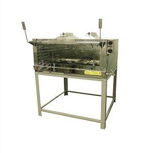 Forno de lastro a gás com infravermelho em inox 95 x 95 xm - FIRIV110 - Venâncio