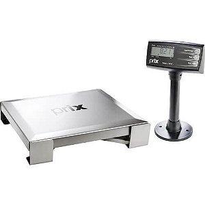 Balança para check out 30kg em inox - 8217 - Prix Toledo