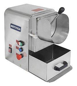 Ralador e desfiador de alimentos com sistema de segurança- RDA - Metvisa