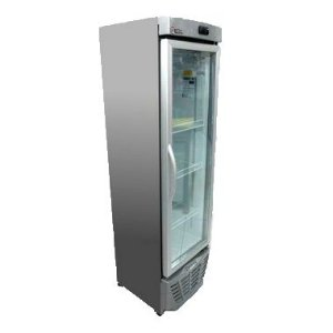 Refrigerador de Bebidas Vertical Ecológico Porta de Vidro 228 litros GRV-23 TI Gelopar
