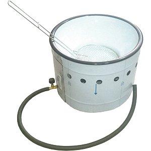 Fritadeira em tacho a gás 3 litros TFGI-3 Ital Inox