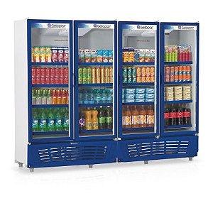Refrigerador Vertical Visa Cooler GRVC-1950 Gelopar