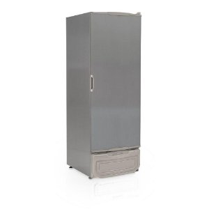 Freezer/Conservador/Refrigerador Vertical tipo inox GTPC-575 TI