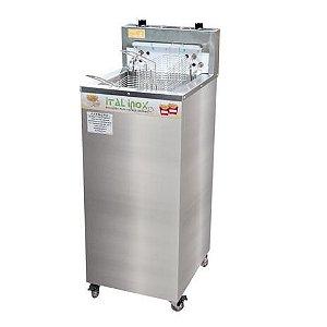 Fritadeira Industrial Elétrica Água e Óleo 24L FAOI-24 - Ital Inox