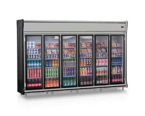Expositor Vertical 6 Portas Refrigerado (Geladeira) - Gelopar - GEVP-6PR