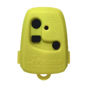 Controle Pecinnin Para Portão Eletrônico 433 Mhz Amarelo