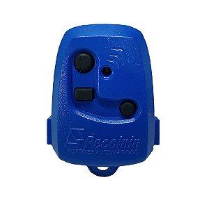 Controle Pecinnin Para Portão Eletrônico 433 Mhz Azul