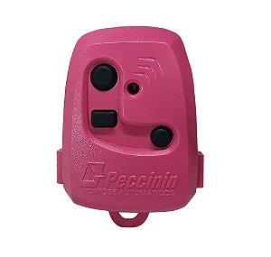 Controle Pecinnin Para Portão Eletrônico 433 Mhz Rosa
