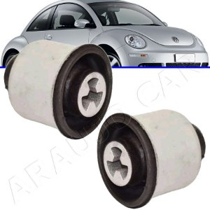 Par Buchas do eixo traseiro Golf Fox G1 G2 Bora Polo New Beetle