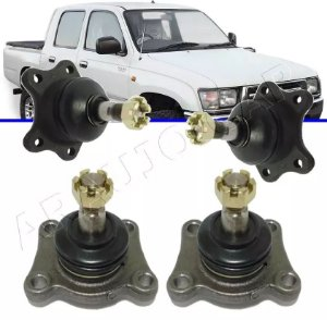 Kit Pivôs Superiores Inferiores Hilux 4x4 de 1991 até 2004