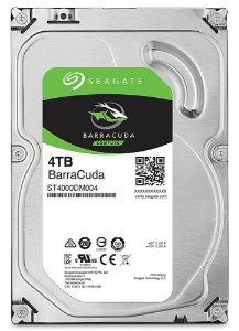 HD Seagate  4TB SATA 3,5´ BarraCuda  5400RPM 256MB Cache SATA 6Gb/s - ST4000DM004