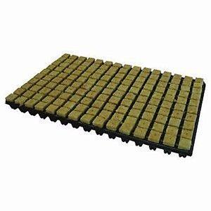 Bandeja Germinação Cultilene Stone Wool Tray 3,5x3,5x4cm (7 células)
