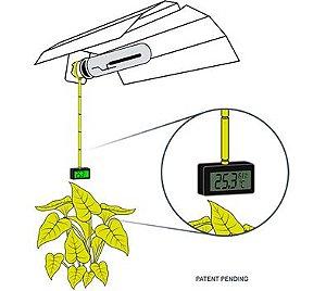MediPro - Medidor de distancia  p/ lampadas de alta pressao