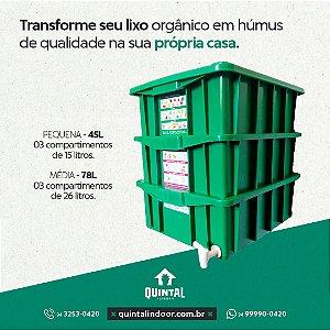 Composteira Média - 78 L