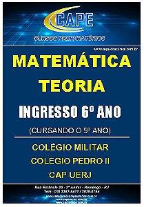APOSTILA MATEMÁTICA-TEORIA-6º ANO - IMPRESSO