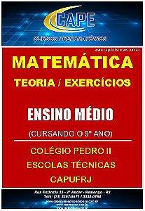 APOSTILA MATEMÁTICA TEORIA E EXERCÍCIOS-9º ANO (IMPRESSO)