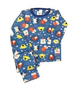 Pijama Infantil Soft SAFARI ROYAL