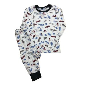 Pijama Infantil SLIM TRUCKS RED