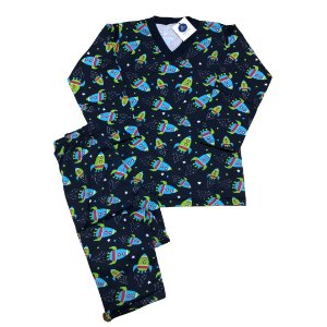 Pijama Flanela FOGUETES