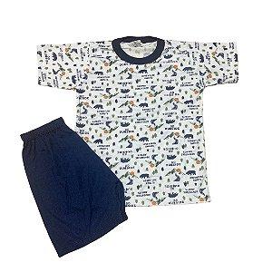 Pijama Infantil Malha Fria ADVENTURE