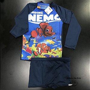 Cjto Infantil Proteção Solar Nemo
