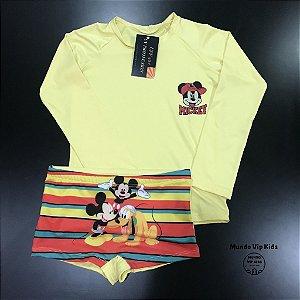 Cjto Infantil Proteção Solar Mickey