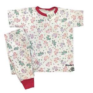 Pijama Infantil SLIM Unicórnios