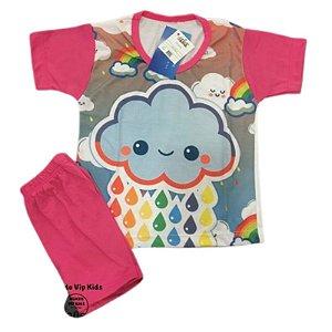 Pijama Infantil NUVEM