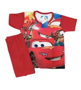 Pijama Infantil CARROS
