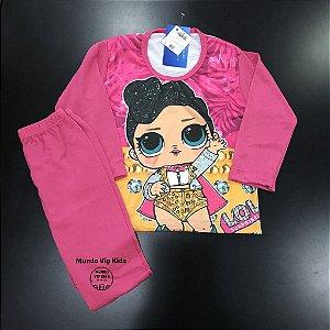 Pijama Infantil LOL DIAMANTES