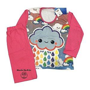 Pijama Infantil NUVEM PINK