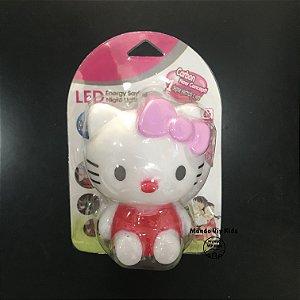 Luminária Led Noturna Hello Kitty Laço